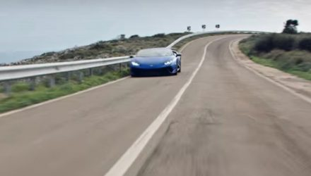 Lamborghini Huracan Performante Spyder confirmed for Geneva (video)
