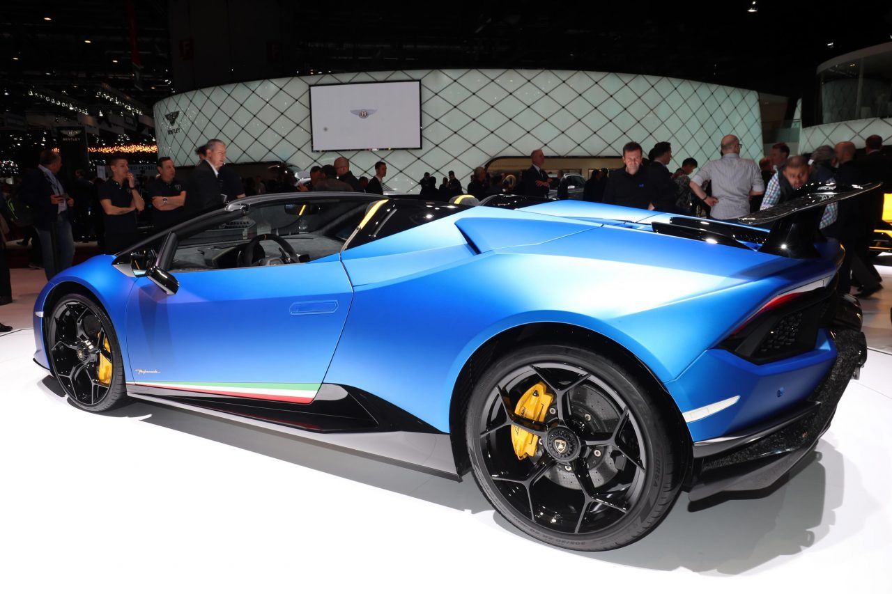 Lamborghini Huracan Performante Spyder Unveiled Performancedrive