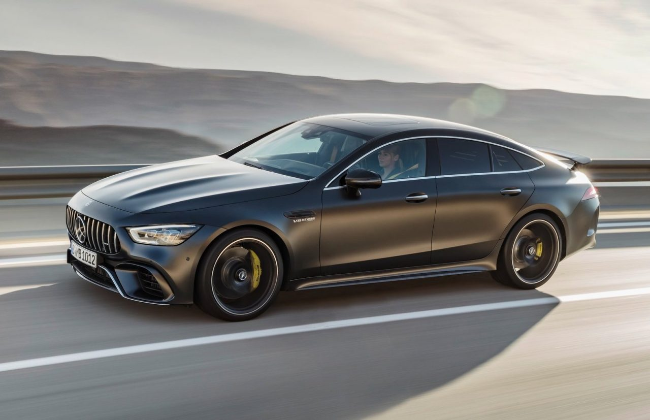2019 mercedes amg gt 4 door coupe says hello at geneva ForMercedes Benz 4 Door