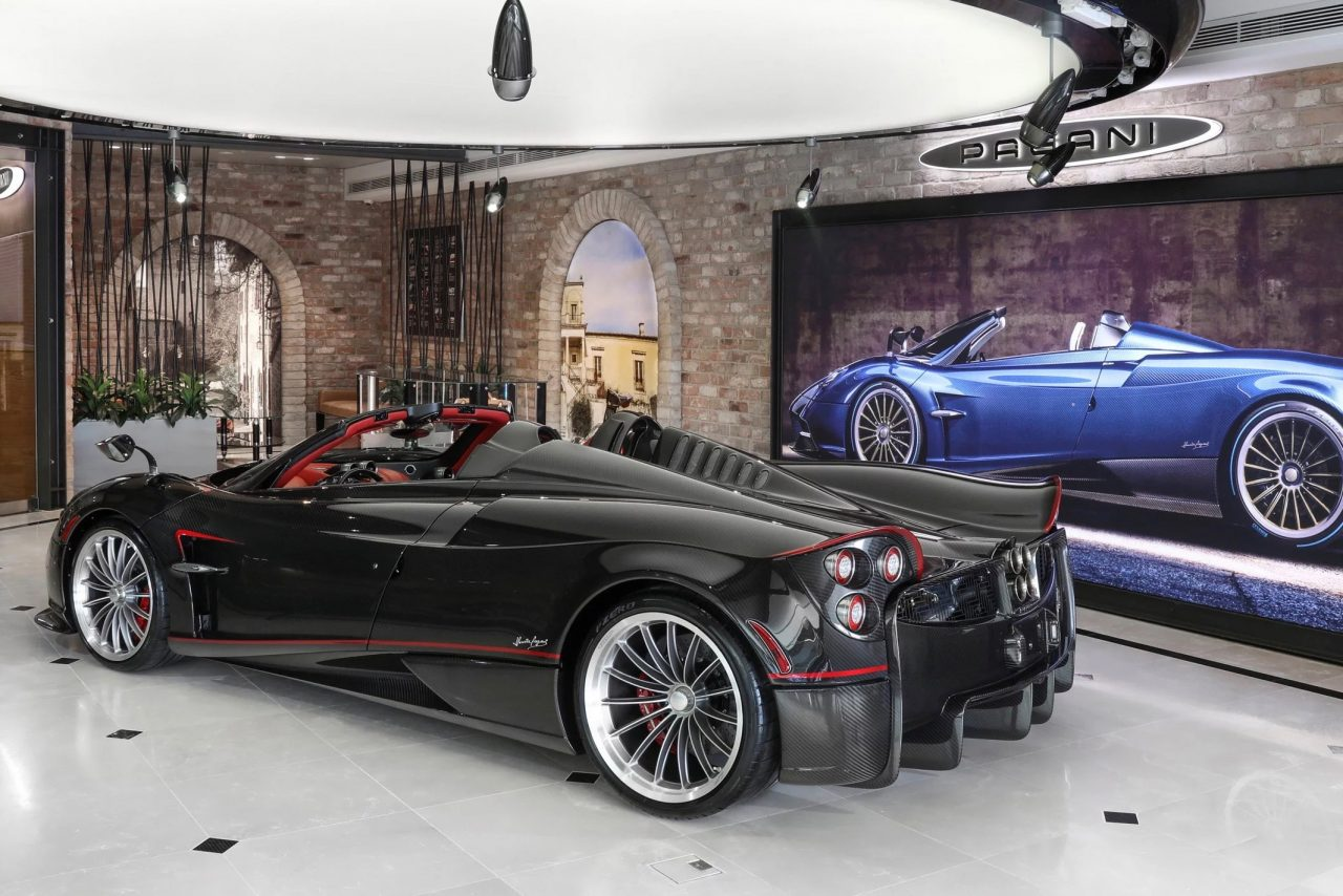 Horacio Pagani Helps Open First Pagani Dealership In
