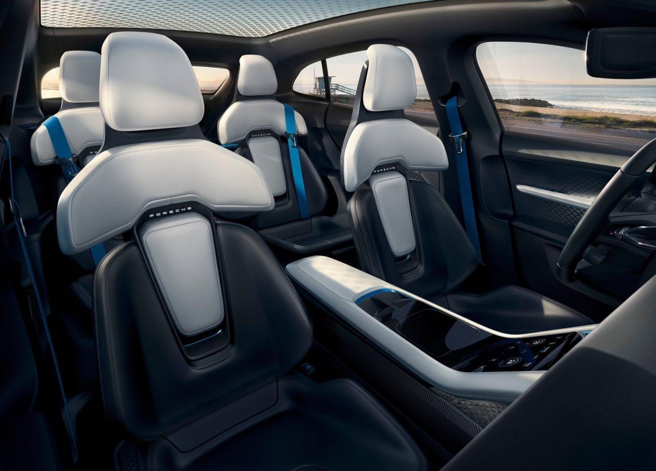Porsche mission e cross turismo concept previews ev for E interior design