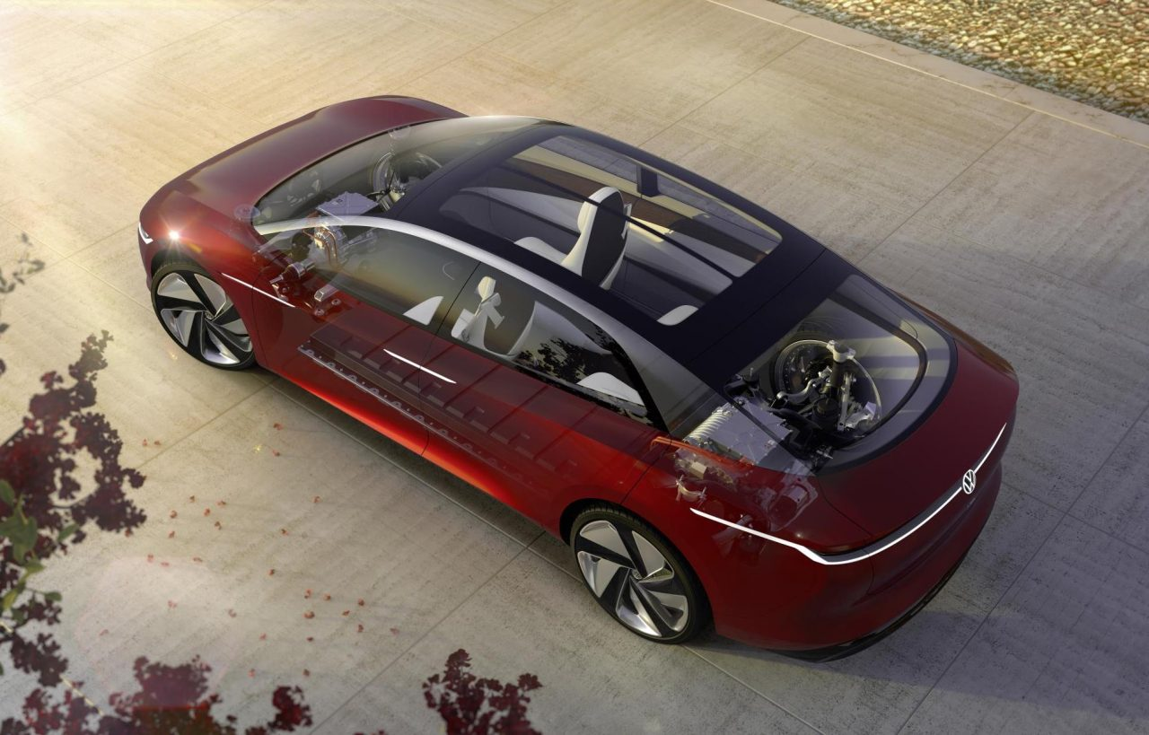 Volkswagen I.D. Vizzion concept unveiled at Geneva show ...