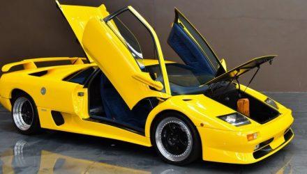 For Sale: Rare 1999 Lamborghini Diablo SV