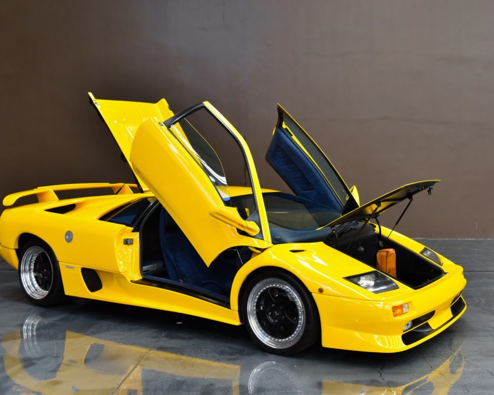 1999 Lamborghini Diablo SV doors up & 1999 Lamborghini Diablo SV doors up |