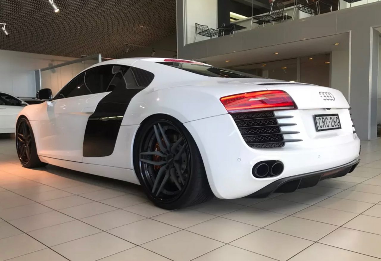 for sale 2012 audi r8 with 600kw twin turbo conversion. Black Bedroom Furniture Sets. Home Design Ideas