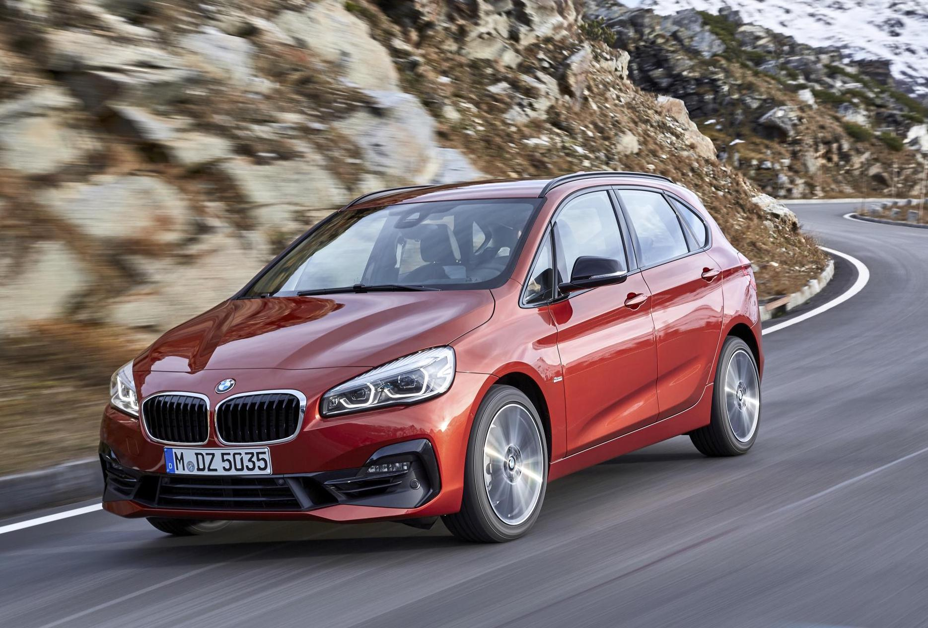 2018 bmw 2 series active tourer update announced in. Black Bedroom Furniture Sets. Home Design Ideas