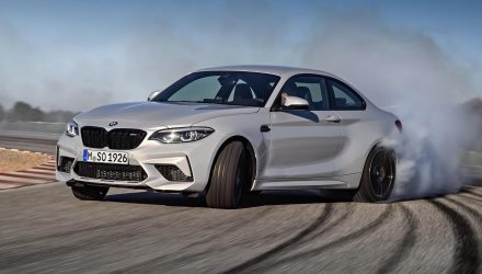 BMW M2 Competition revealed, gets S55 M3/M4 twin-turbo engine