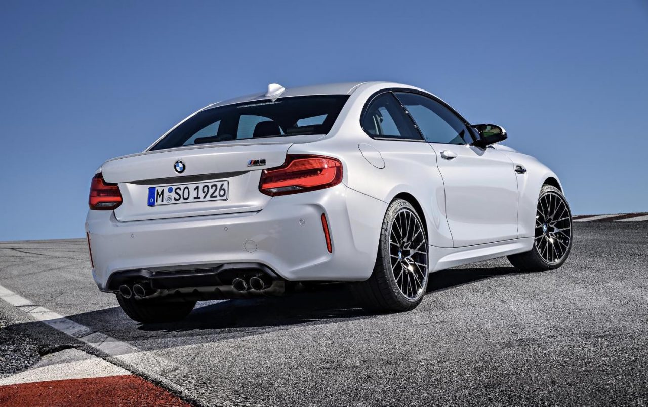 BMW M2 Competition Revealed, Gets S55 M3/M4 Twin-turbo