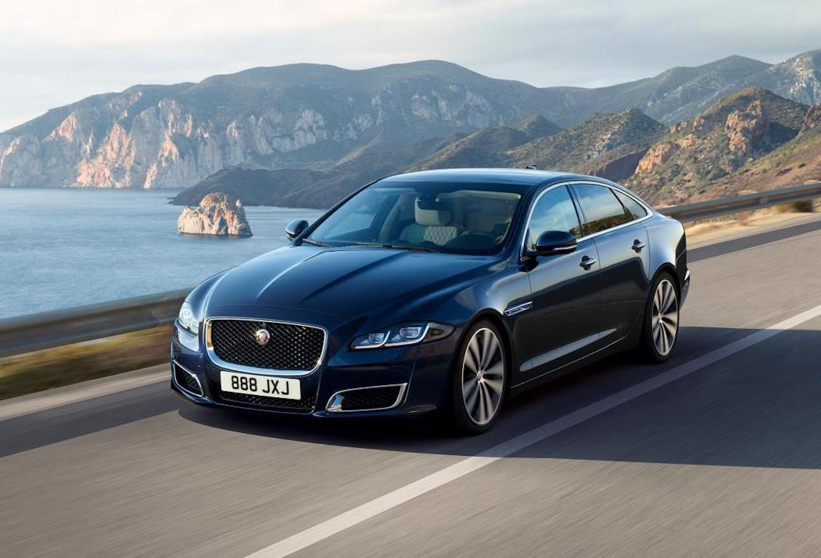jaguar xj50 special edition celebrates 50 years of xj performancedrive. Black Bedroom Furniture Sets. Home Design Ideas