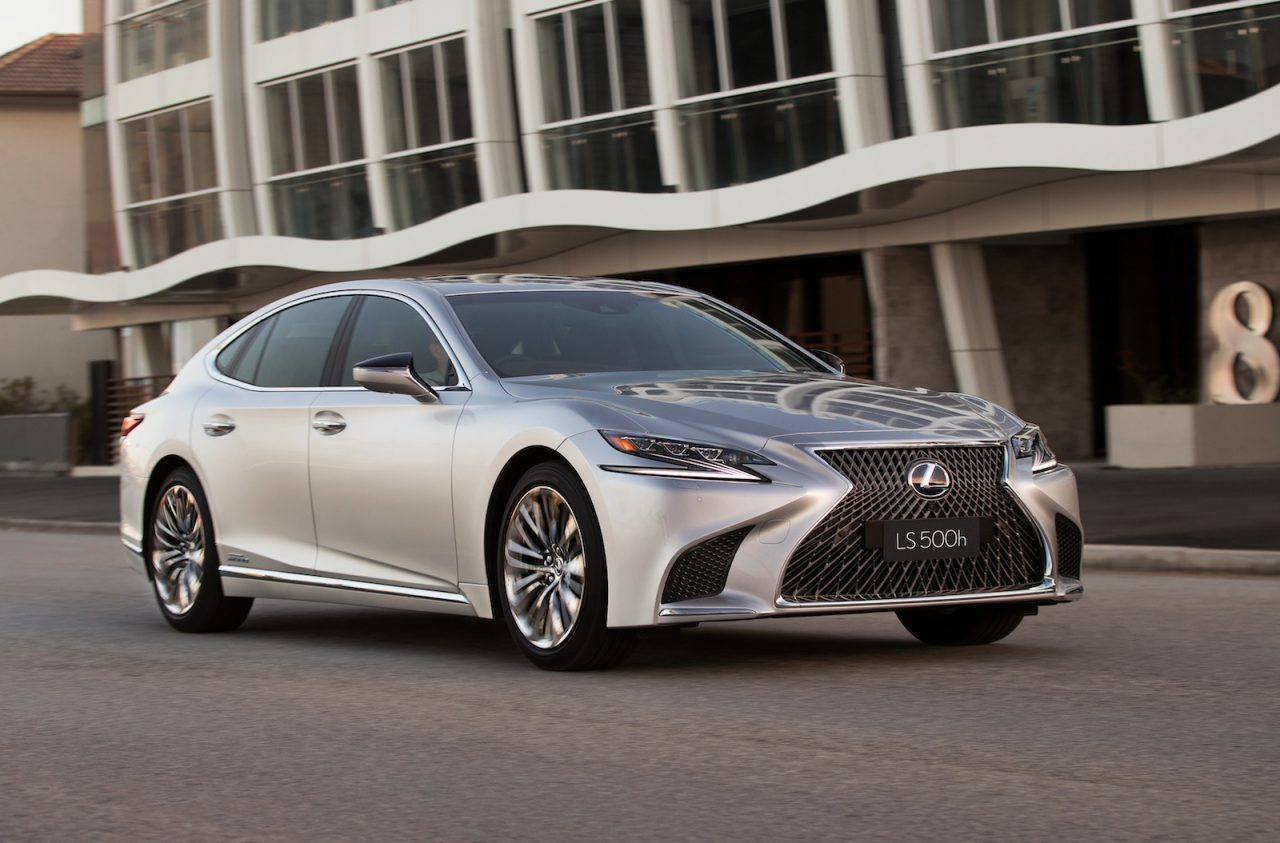 2018 lexus ls 500 twin turbo ls 500h now on sale in australia performancedrive. Black Bedroom Furniture Sets. Home Design Ideas