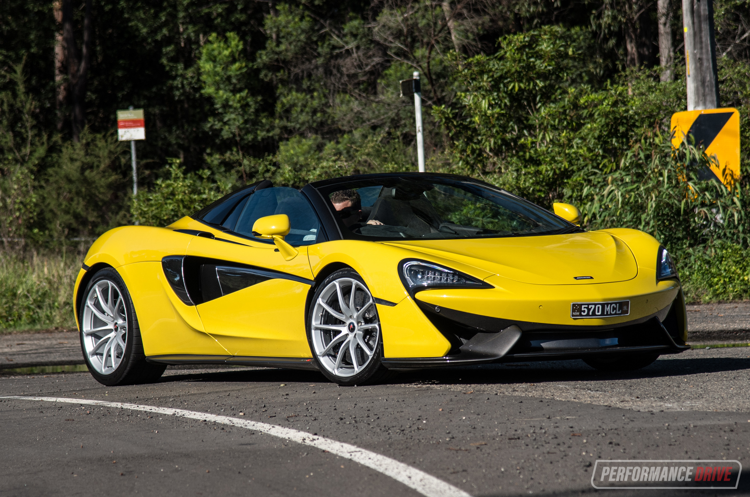 Mclaren 570s Spider Review Video Performancedrive