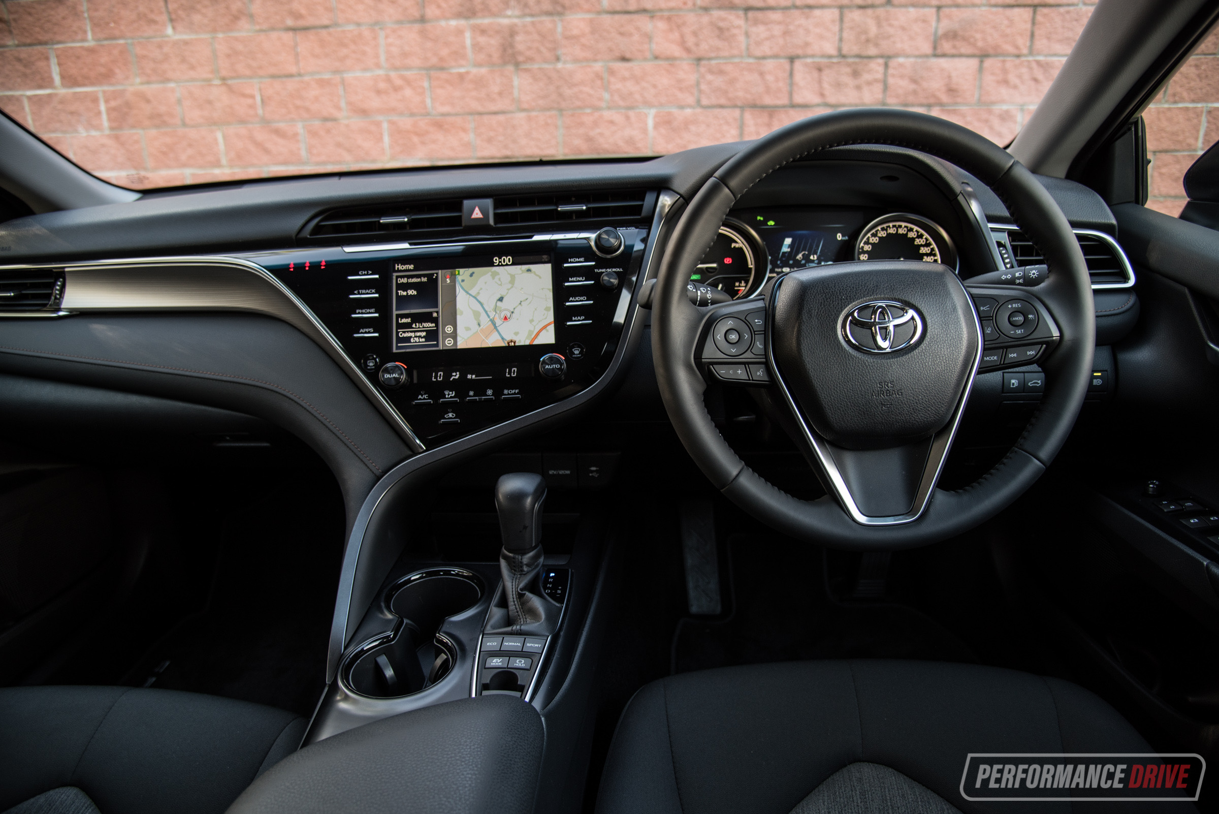 2018 toyota camry hybrid review video performancedrive. Black Bedroom Furniture Sets. Home Design Ideas