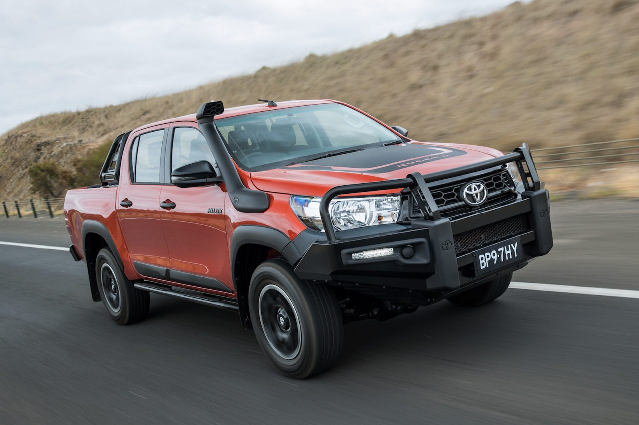 2018 toyota hilux rogue rugged rugged x prices announced performancedrive. Black Bedroom Furniture Sets. Home Design Ideas