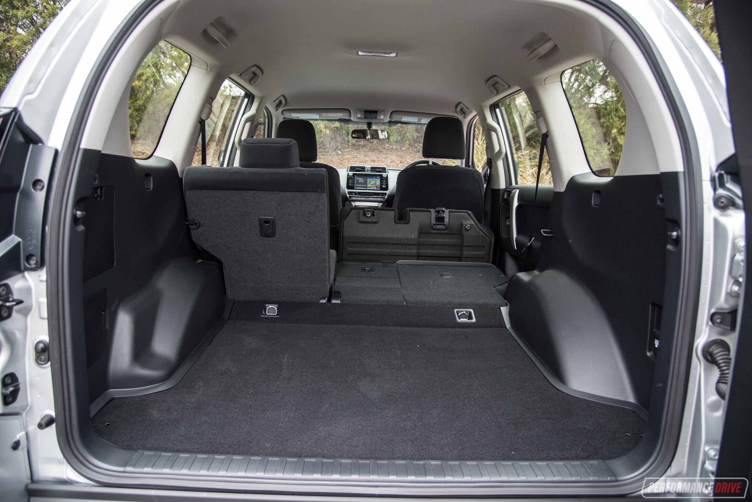 2018 Toyota Prado-cargo Space