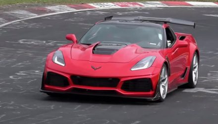 2019 Chevrolet Corvette ZR1 sets 7:12 Nurburgring lap – rumour
