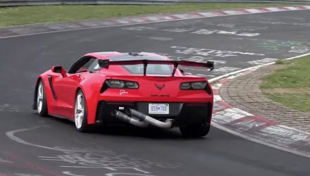 Video: 2019 Chevrolet Corvette ZR1 hunting Nurburgring record?
