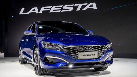 Hyundai LAFESTA debuts at Beijing, new small sedan for China