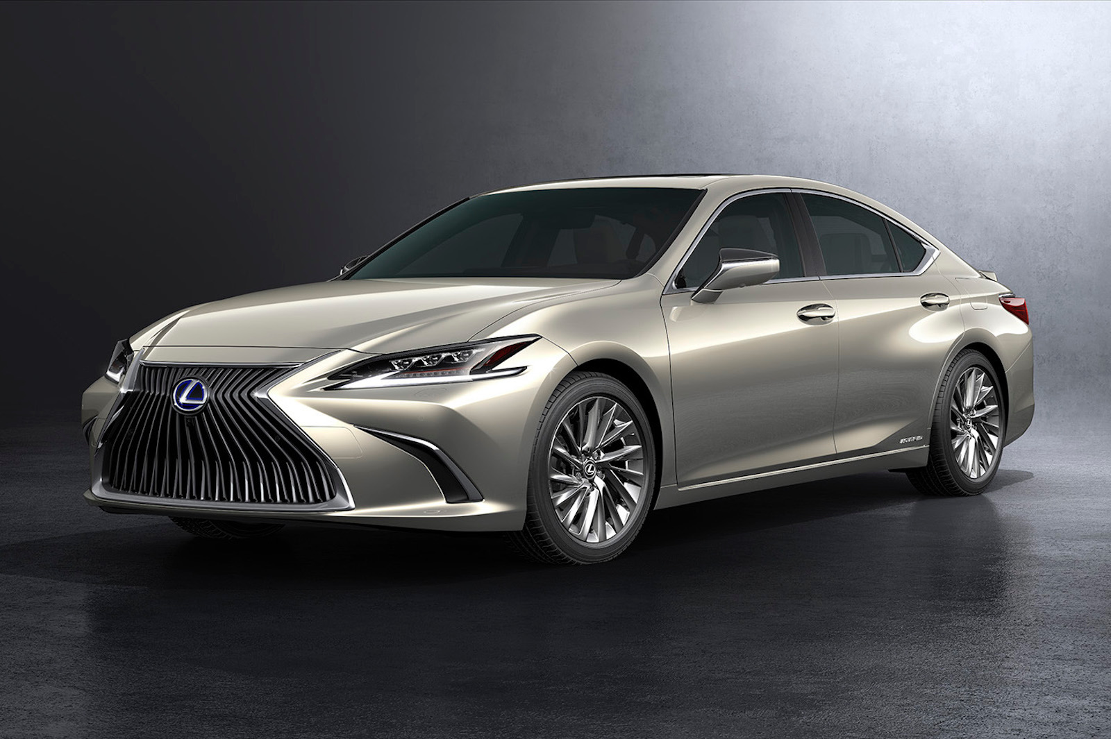 2019 Lexus Es Revealed Hybrid Es 300h Confirmed For
