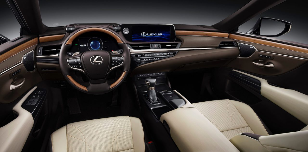 Lexus Nx Hybrid >> 2019 Lexus ES revealed, hybrid ES 300h confirmed for ...