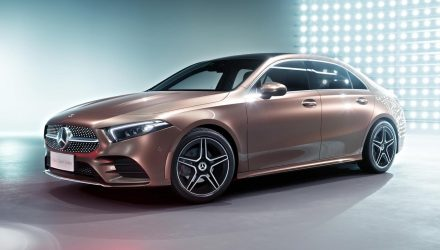 2019 Mercedes-Benz A-Class sedan leaks online: UPDATE