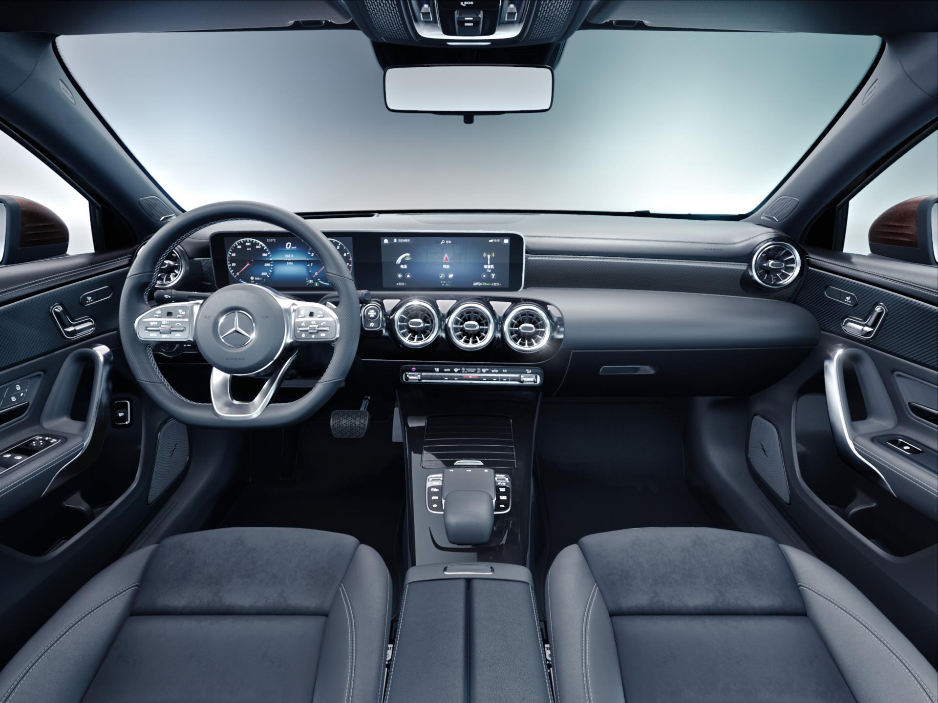 2019 mercedes benz a class sedan interior. Black Bedroom Furniture Sets. Home Design Ideas