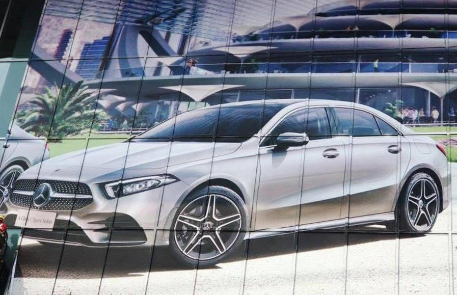 Mercedes-Benz A-Class L Saloon Arrives in Rose Gold