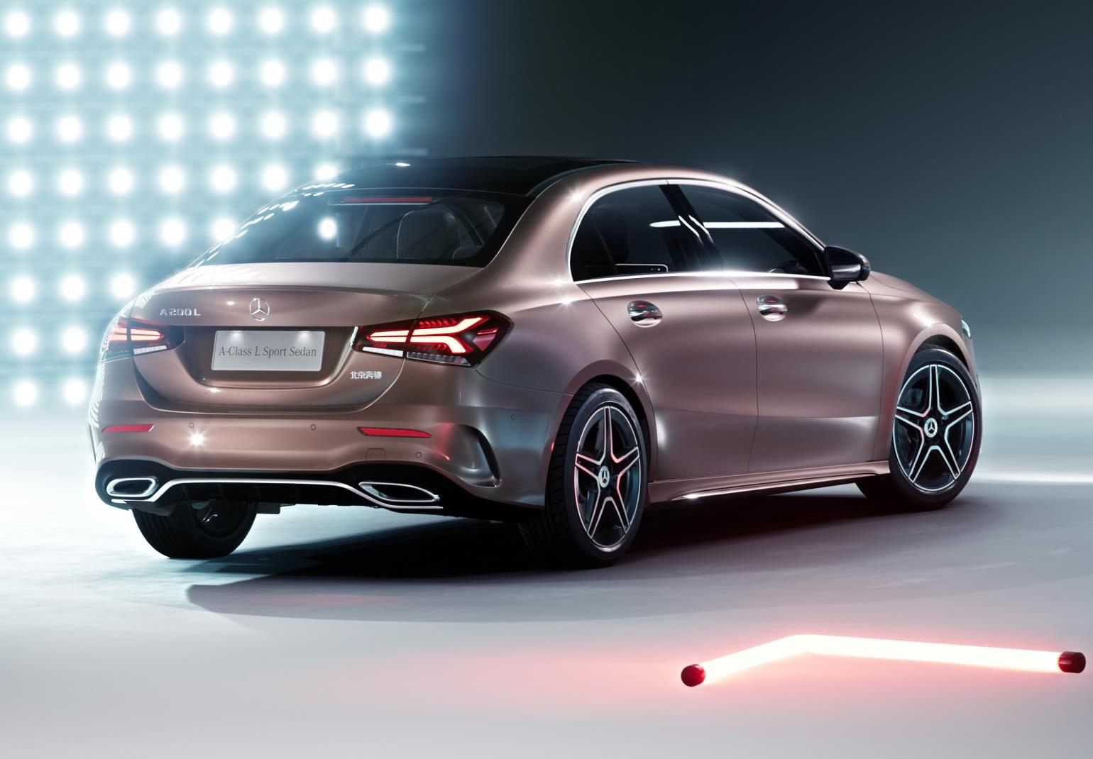 2019 mercedes benz a class sedan leaks online update performancedrive. Black Bedroom Furniture Sets. Home Design Ideas