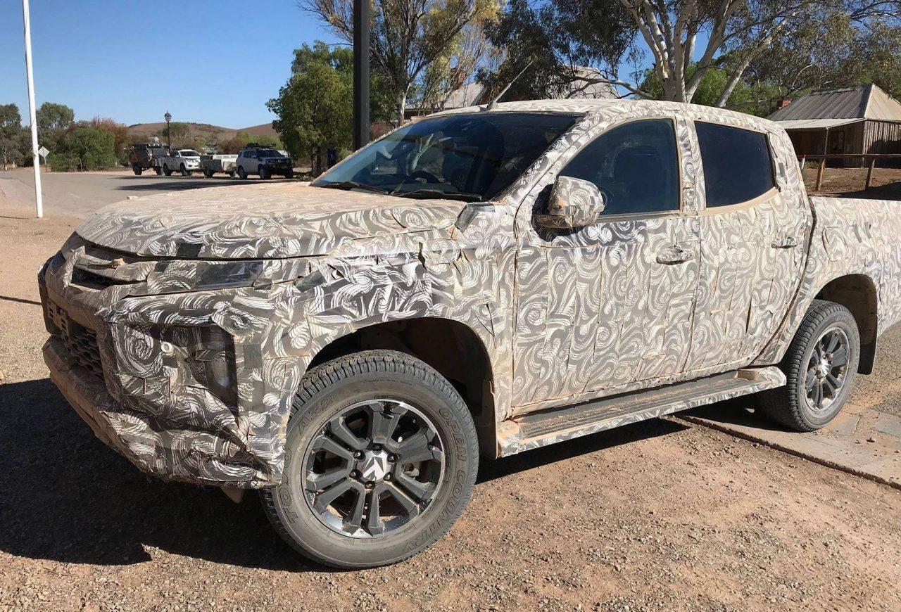2019 Mitsubishi Triton prototype spotted in South ...