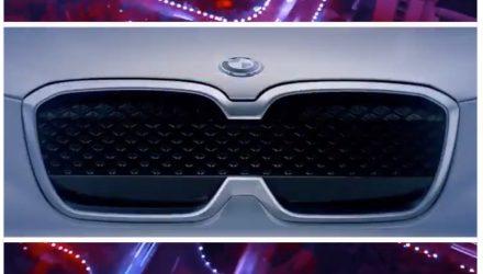 BMW iX3 concept preview