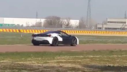 Ferrari caught testing 488-based hybrid prototype (video)