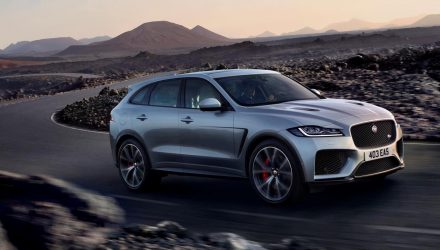 Jaguar F-PACE SVR now available to order in Australia, prices confirmed