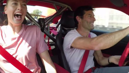 Video: Mark Webber makes Maria Sharapova scream in 911 GT2 RS