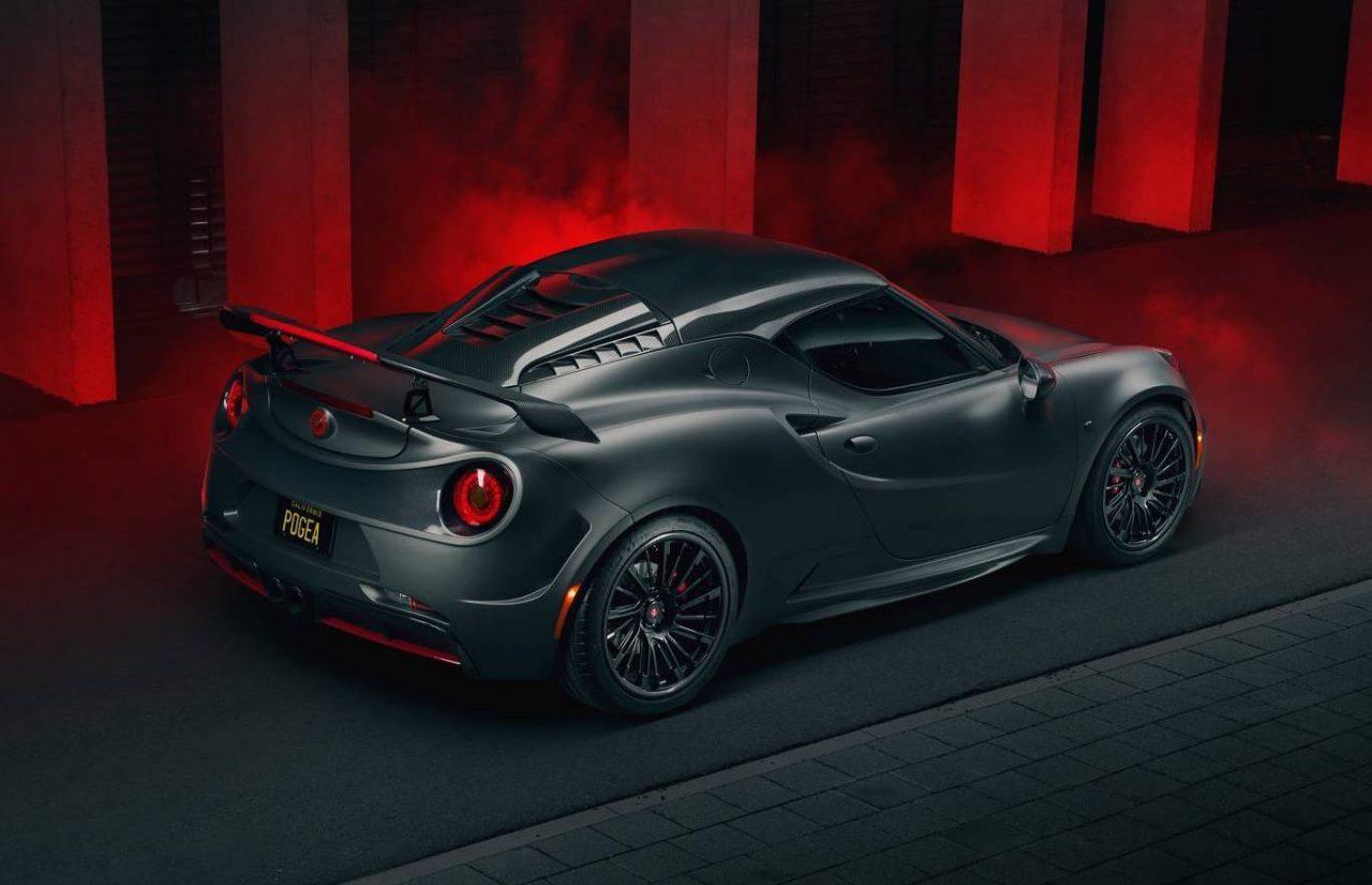 Pogea Racing transforms Alfa Romeo 4C into a stealthy ...