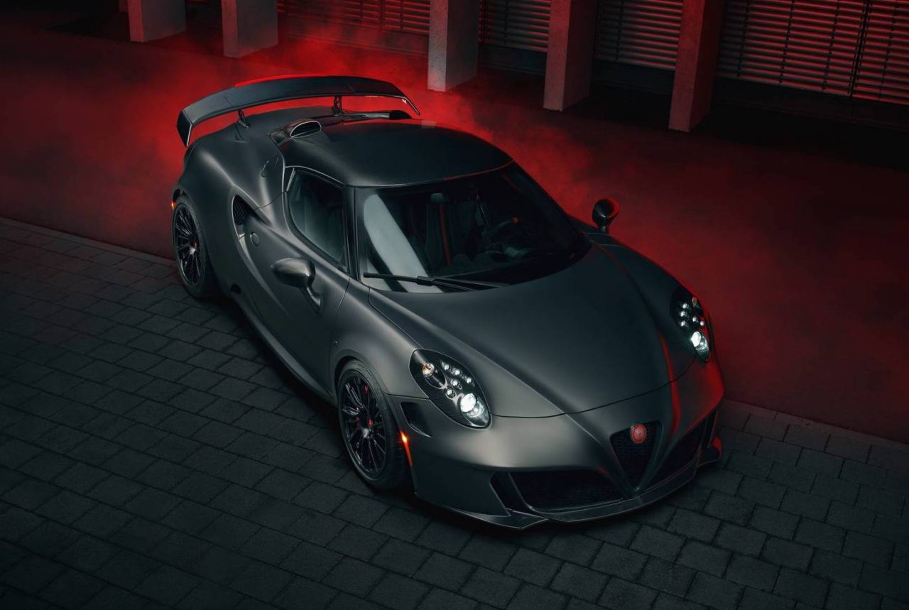 Alfa Romeo 4C Top Speed >> Pogea Racing transforms Alfa Romeo 4C into a stealthy beast | PerformanceDrive