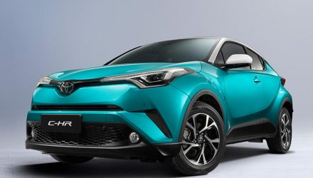All-electric Toyota C-HR to go on sale in China by 2020