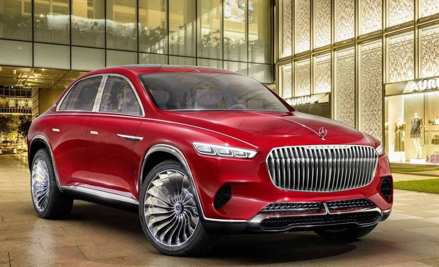 Vision mercedes maybach ultimate luxury previews new suv for Expensive mercedes benz suv