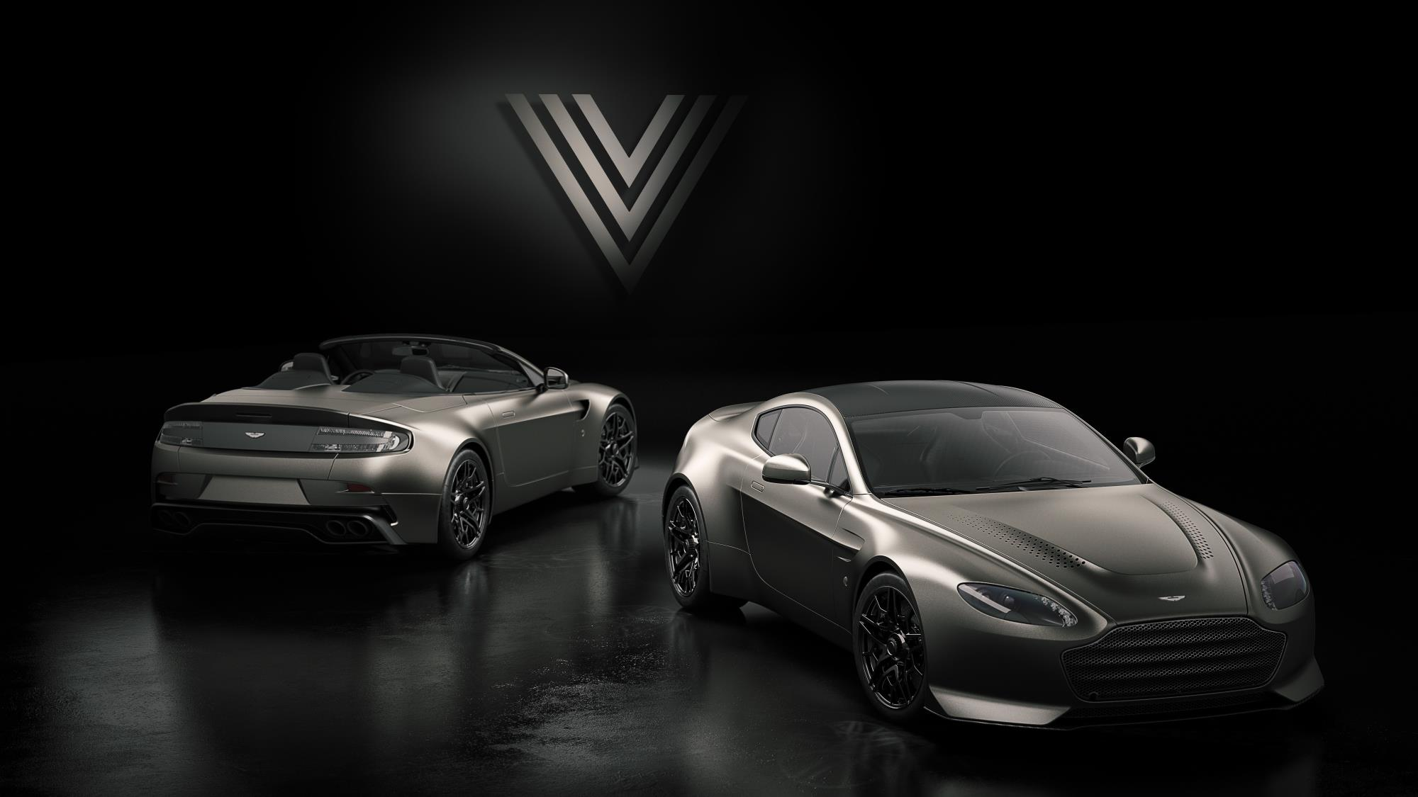 aston martin v12 vantage v600 edition recreates an icon performancedrive. Black Bedroom Furniture Sets. Home Design Ideas