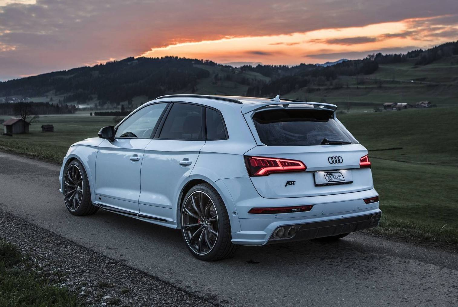2018 Audi Sq5 Abt Rear