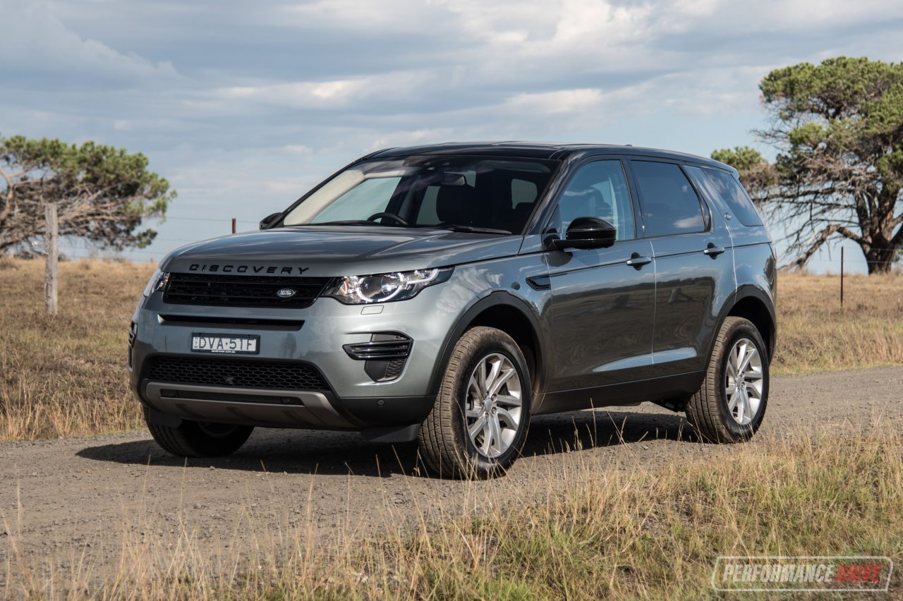 2018 land rover discovery sport sd4 se review video. Black Bedroom Furniture Sets. Home Design Ideas