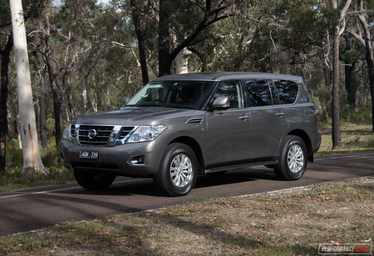2018 nissan patrol ti l review video performancedrive. Black Bedroom Furniture Sets. Home Design Ideas