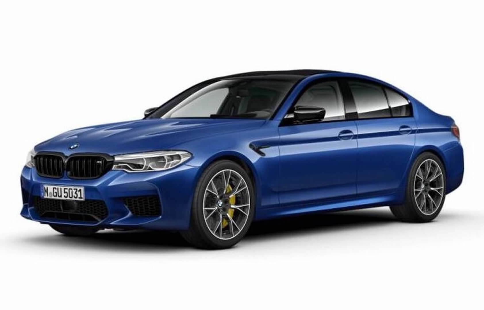 LEAKED: BMW M5 Competition Pack Adds More Power To The Super Sedan
