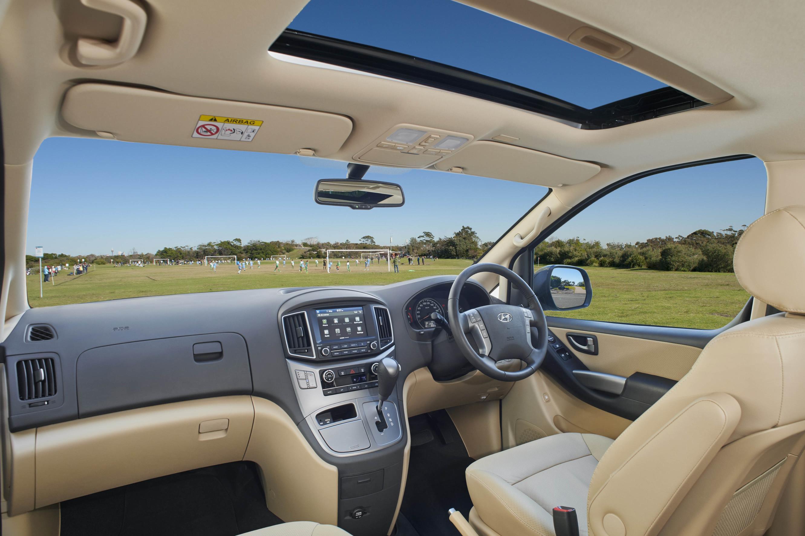 2019 Hyundai Imax Interior