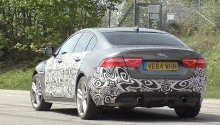 Jaguar XE S prototype spotted, new V6-based XE 400 Sport? (Video)