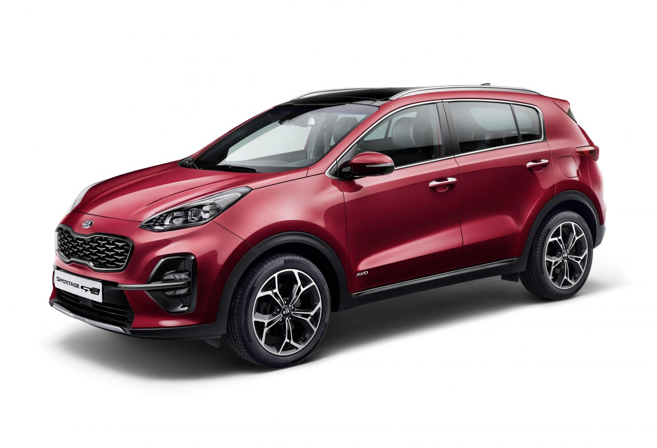 2019 kia sportage revealed with new hybrid diesel. Black Bedroom Furniture Sets. Home Design Ideas