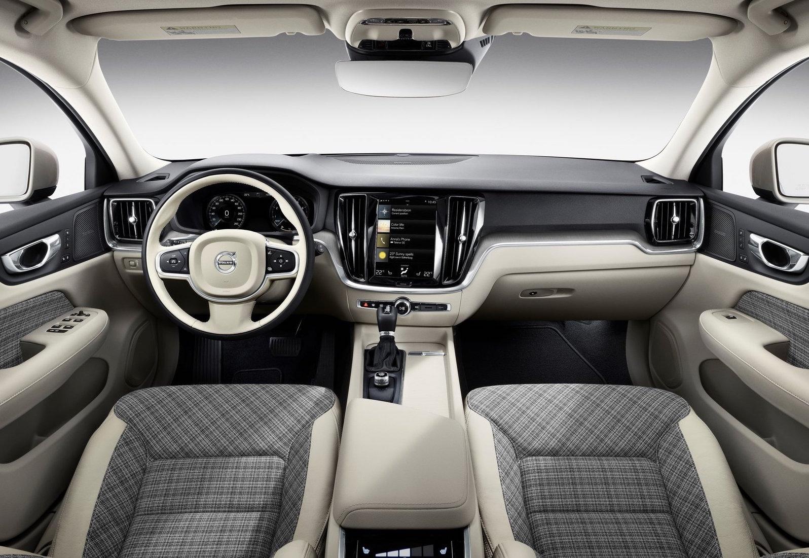2019 Volvo V60 getting cool plaid textile interior trim option ...