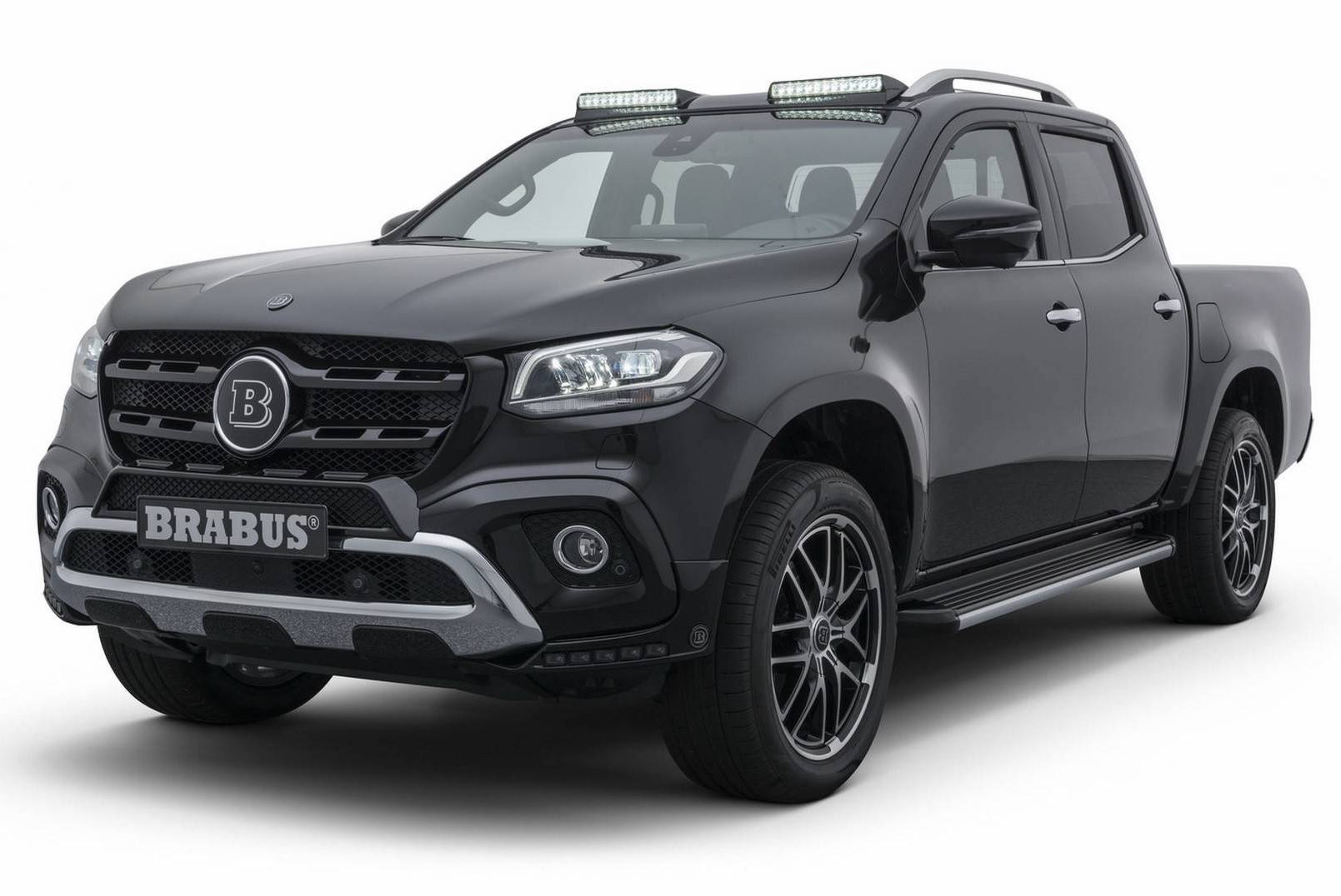 brabus reveals first upgrades for mercedes benz x class performancedrive. Black Bedroom Furniture Sets. Home Design Ideas