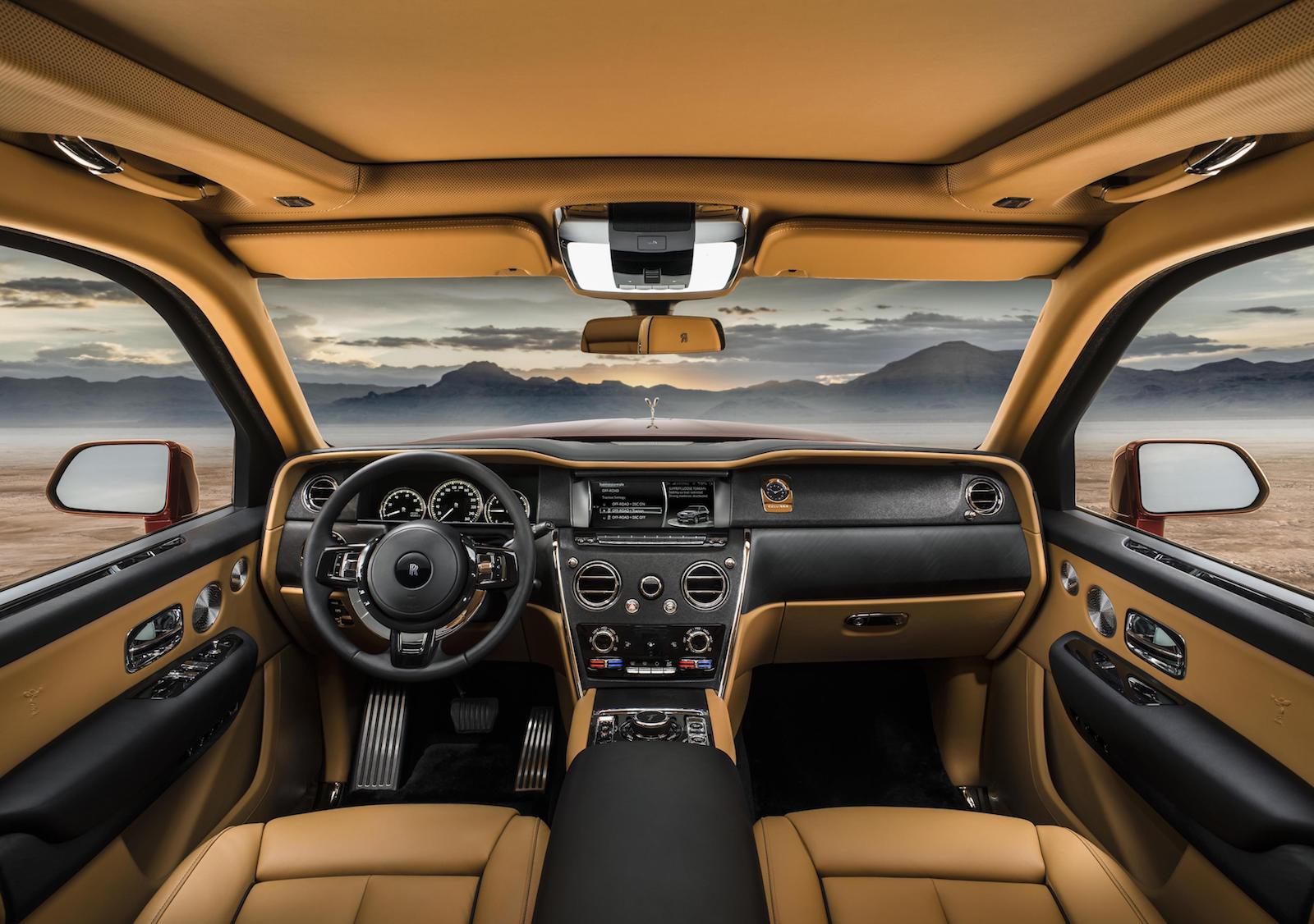 Rolls-Royce Cullinan-interior  