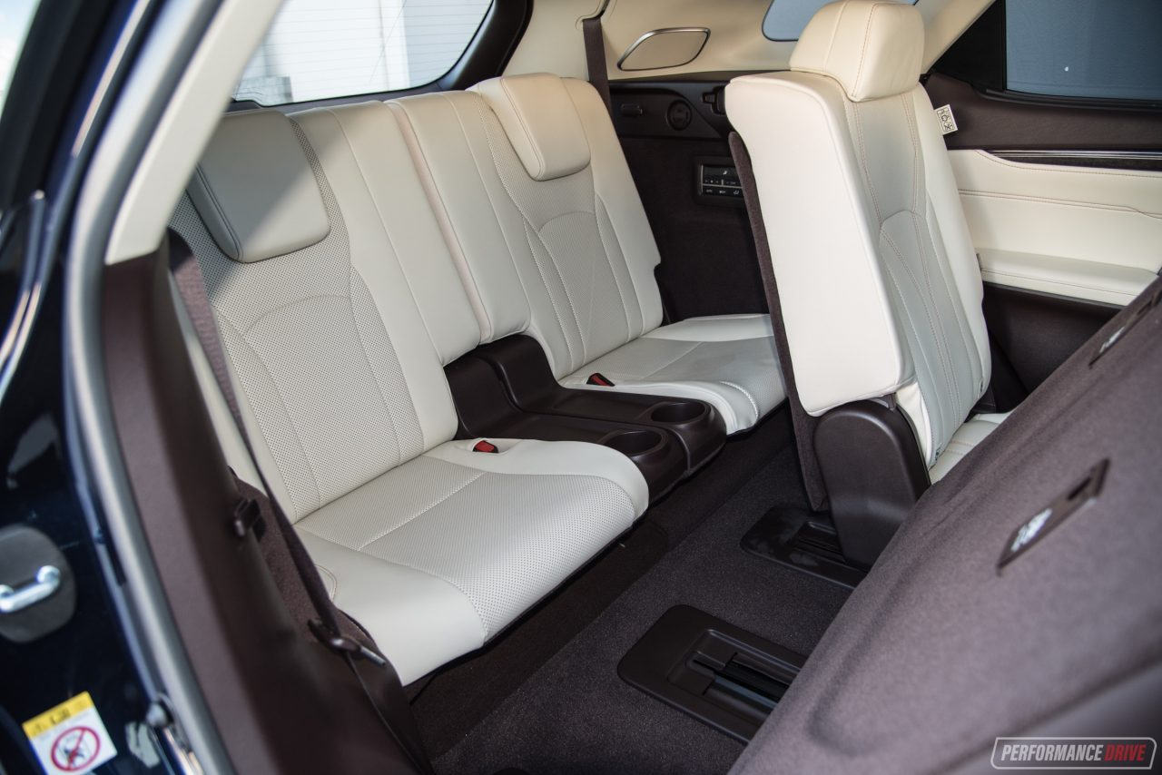 Lexus 7 Seater Suv >> 2018 Lexus RX 350L Sports Luxury review (video ...