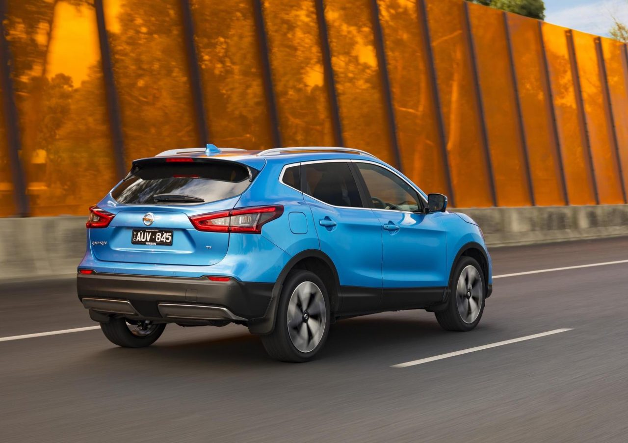 2018 nissan qashqai update adds ti flagship variant. Black Bedroom Furniture Sets. Home Design Ideas