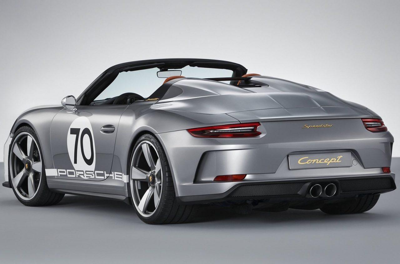 porsche 911 speedster concept revealed for 70th anniversary performancedrive. Black Bedroom Furniture Sets. Home Design Ideas